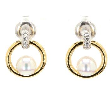 Akoya Cultured Pearl Earrings