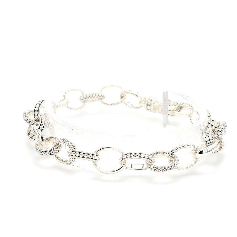 Lagos Silver Link Bracelet