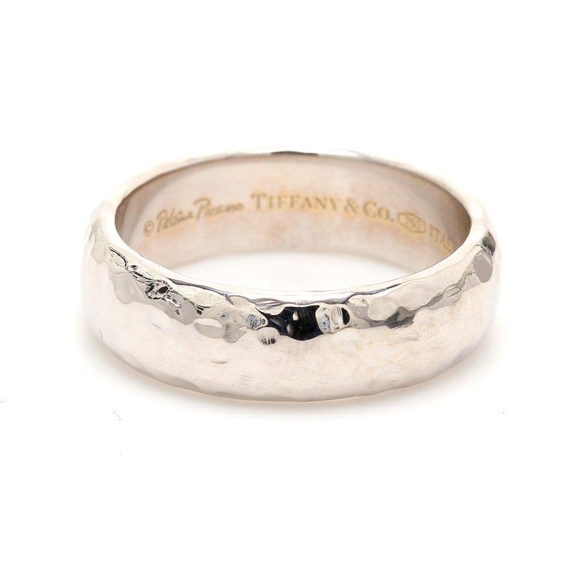 Estate Tiffany & Co. 18 Karat Gold Wedding Band