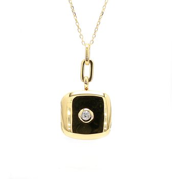 Gold & Diamond Locket