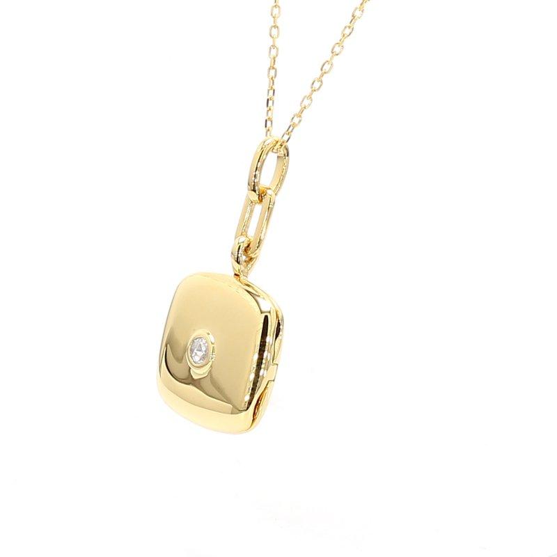 Monica Rich Kosann Gold & Diamond Locket
