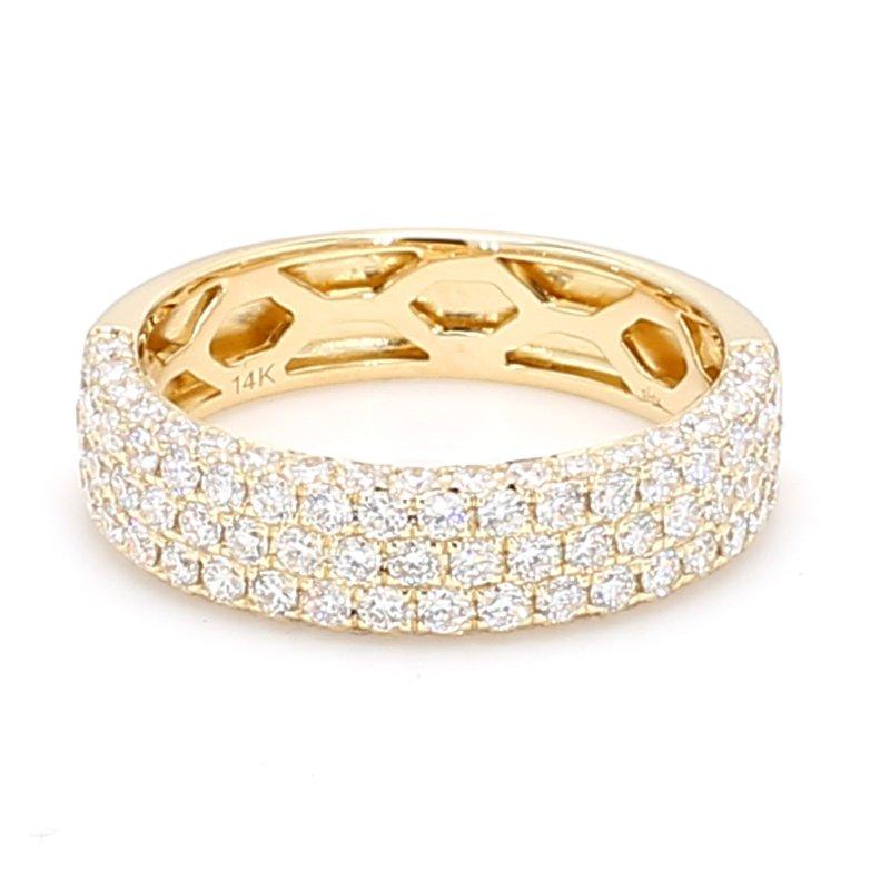 Spicer Greene Multi-Row Diamond Ring