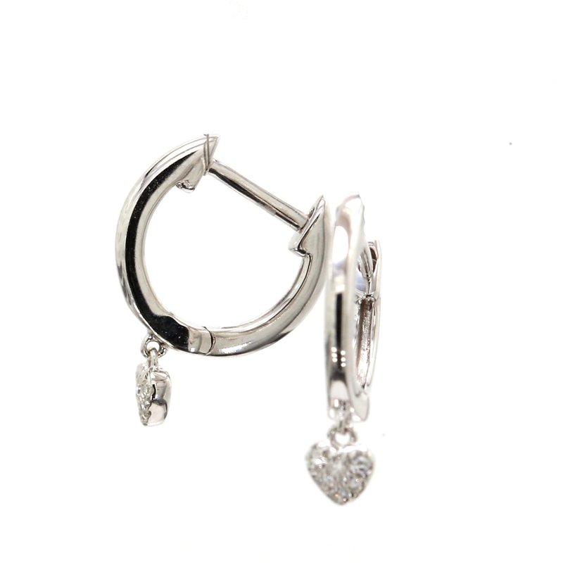 Spicer Greene Diamond Heart Earrings
