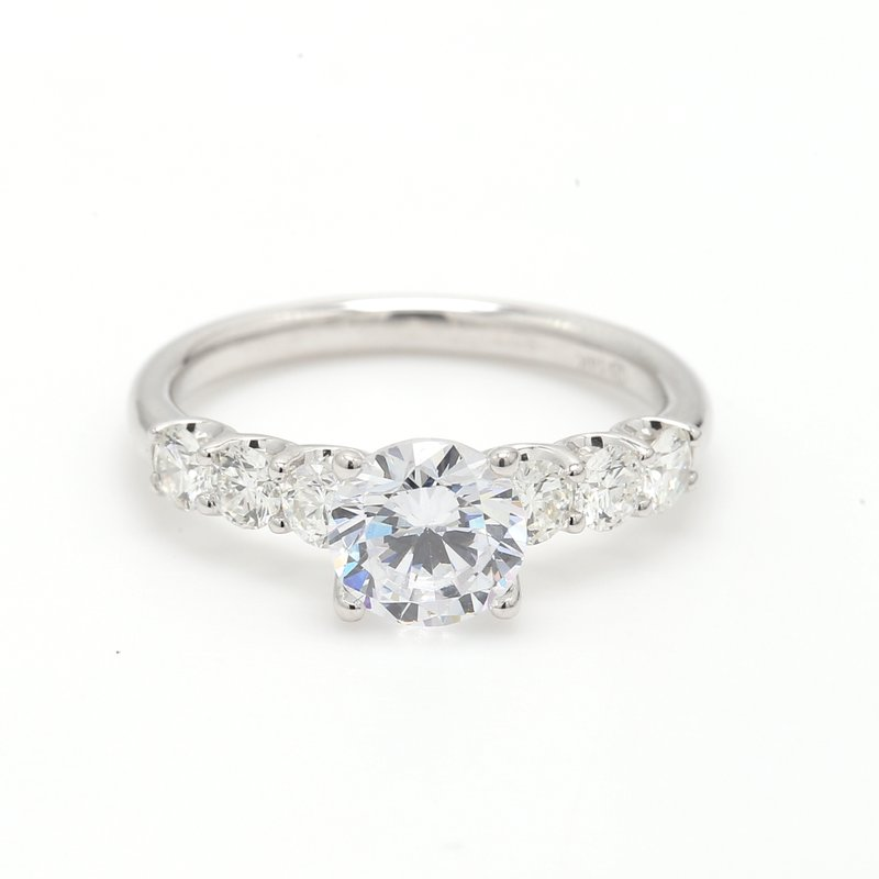 Classique Solitaire with Diamonds Semi Mount