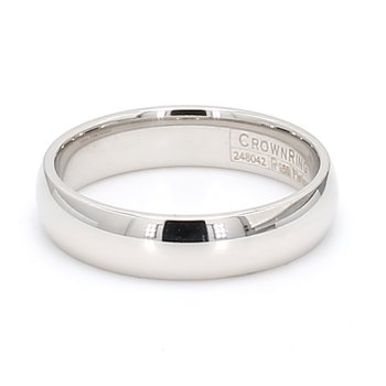 5mm Platinum Wedding Band