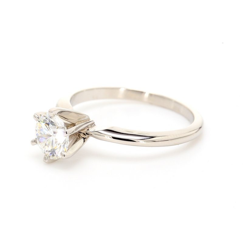 Estate Solitaire Engagement Ring