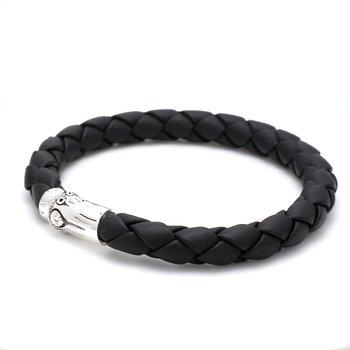 Men's Bamboo Leather Bracelet