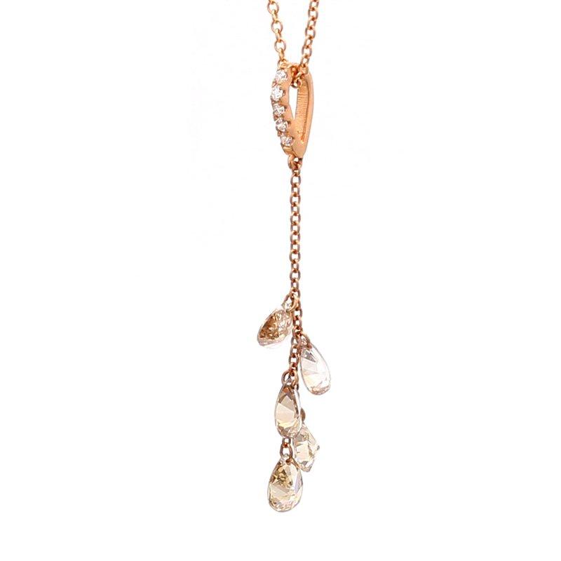 Spicer Greene Diamond Fringe Necklace