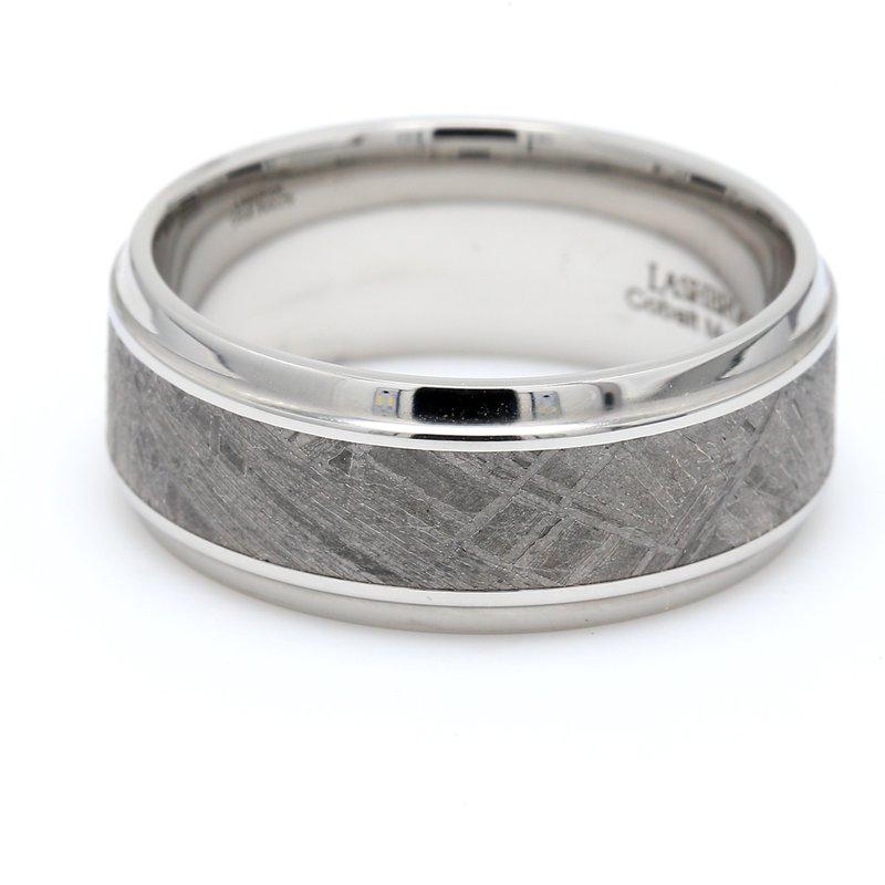 Lashbrook Designs Cobalt & Meteorite Wedding Band