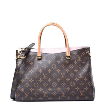 Louis Vuitton Monogram Pallas Rose Ballerine