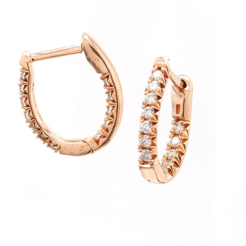 Spicer Greene Diamond Hoop Earrings