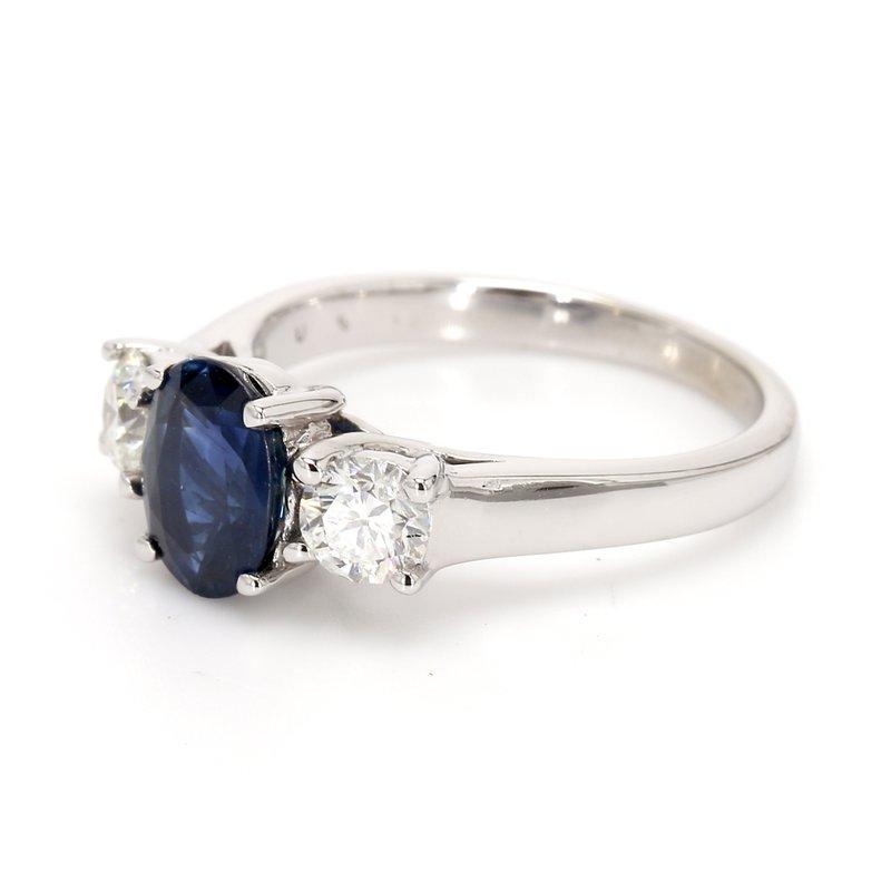 Estate Sapphire 3-Stone Ring