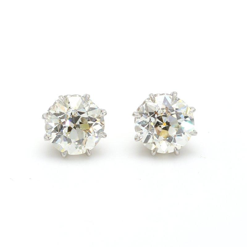 Estate Diamond Studs