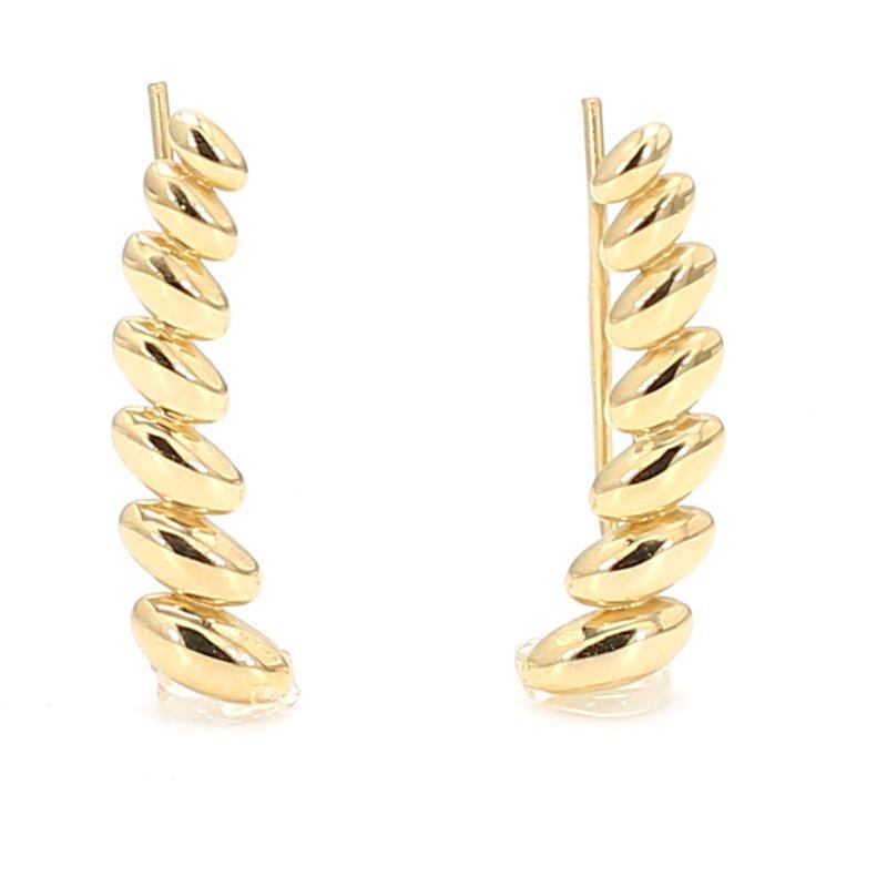Spicer Greene White Gold Huggie Earrings