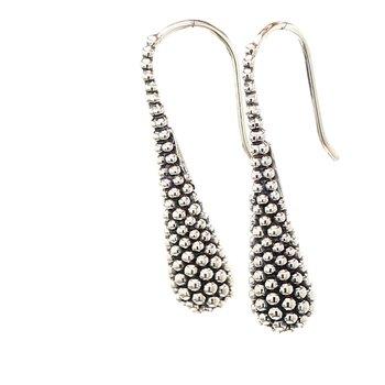 Caviar Drop Earrings