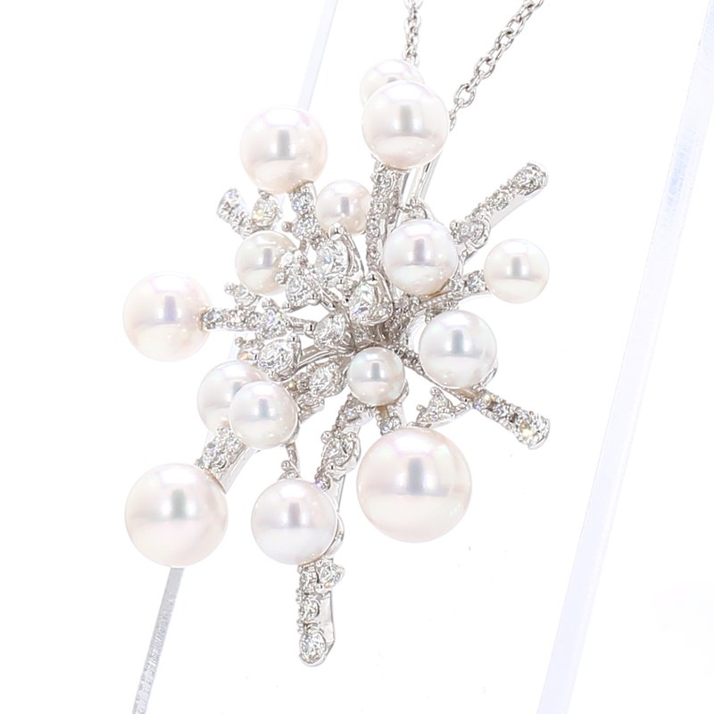 "Mikimoto ""Splash"" Akoya Cultured Pearl Pendant"