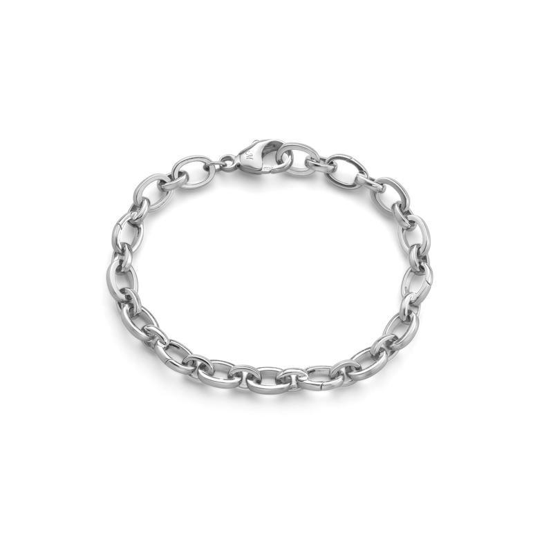 Monica Rich Kosann Silver Build-Your-Own Charm Bracelet