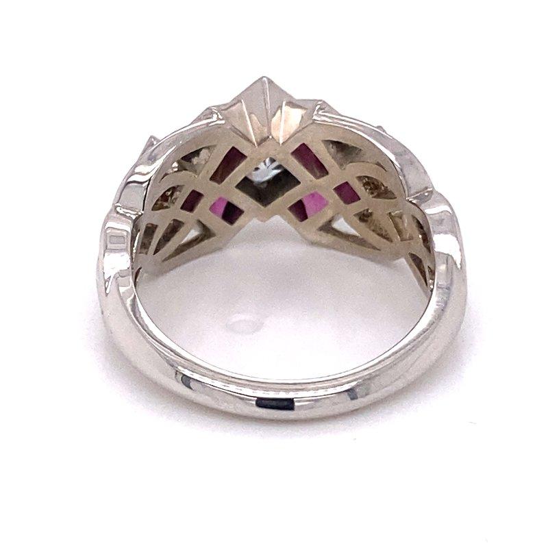Spicer Greene Garnet & Diamond Ring