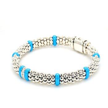 Blue Caviar Bracelet