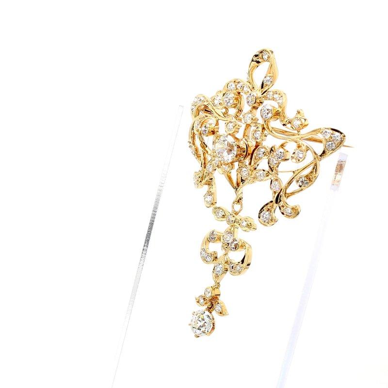 Estate Diamond Pin