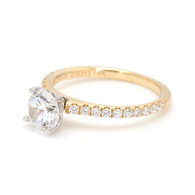 Noam Carver Semi Mount Engagement Ring