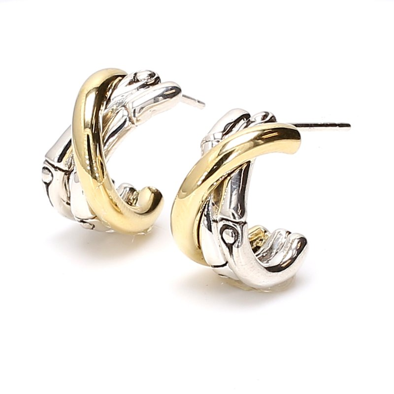 John Hardy Bamboo Earrings