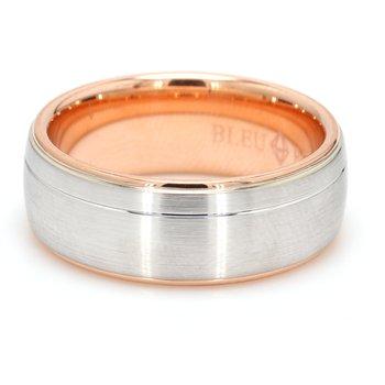 8.5mm 14 Karat Gold Wedding Band
