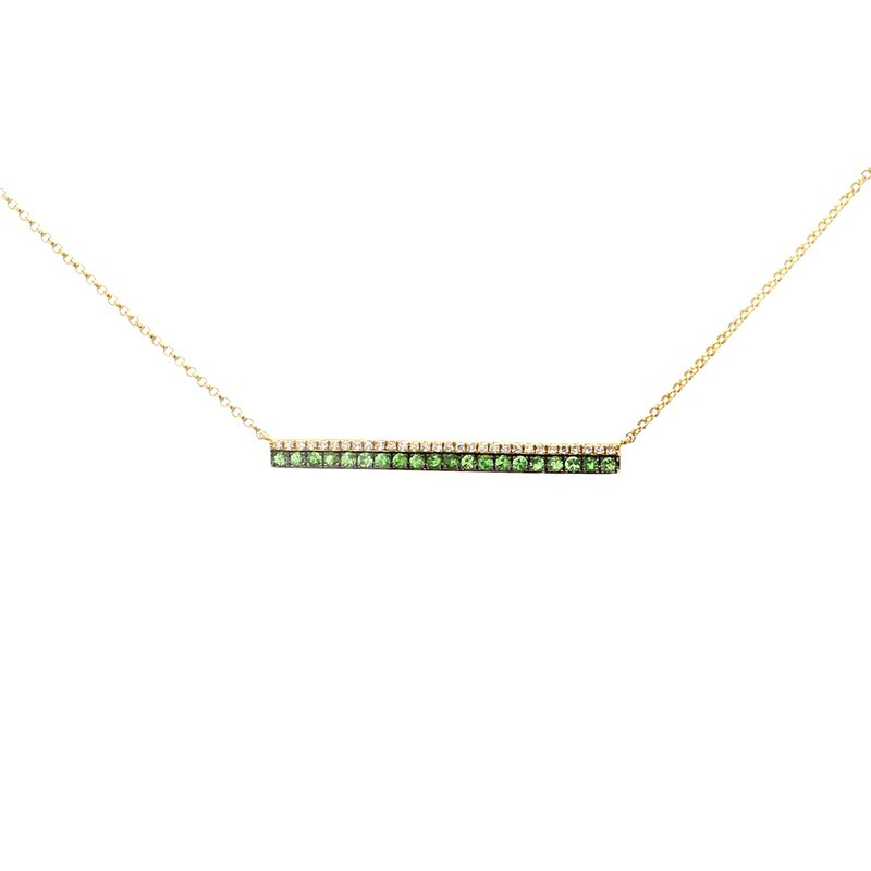 Spicer Greene Garnet Pendant
