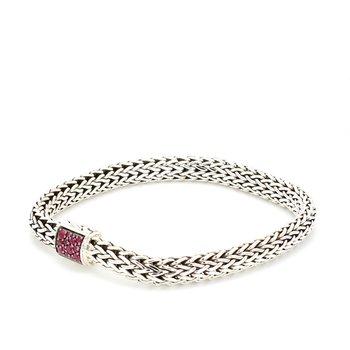 Ruby Chain Bracelet