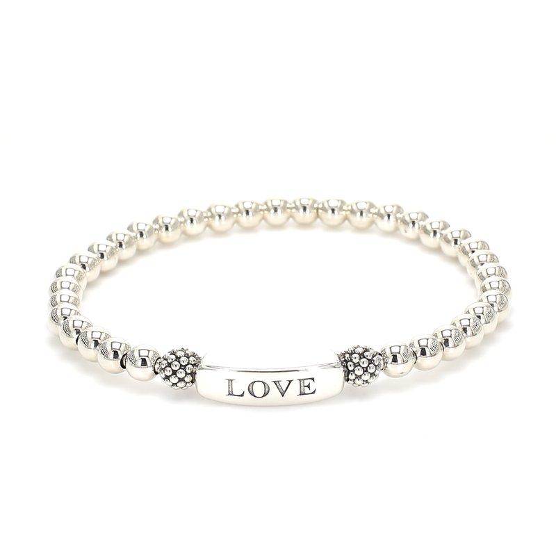 Lagos Silver Love Bracelet