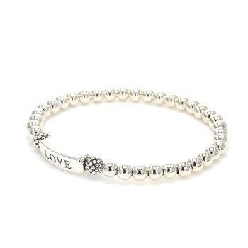 Silver Love Bracelet