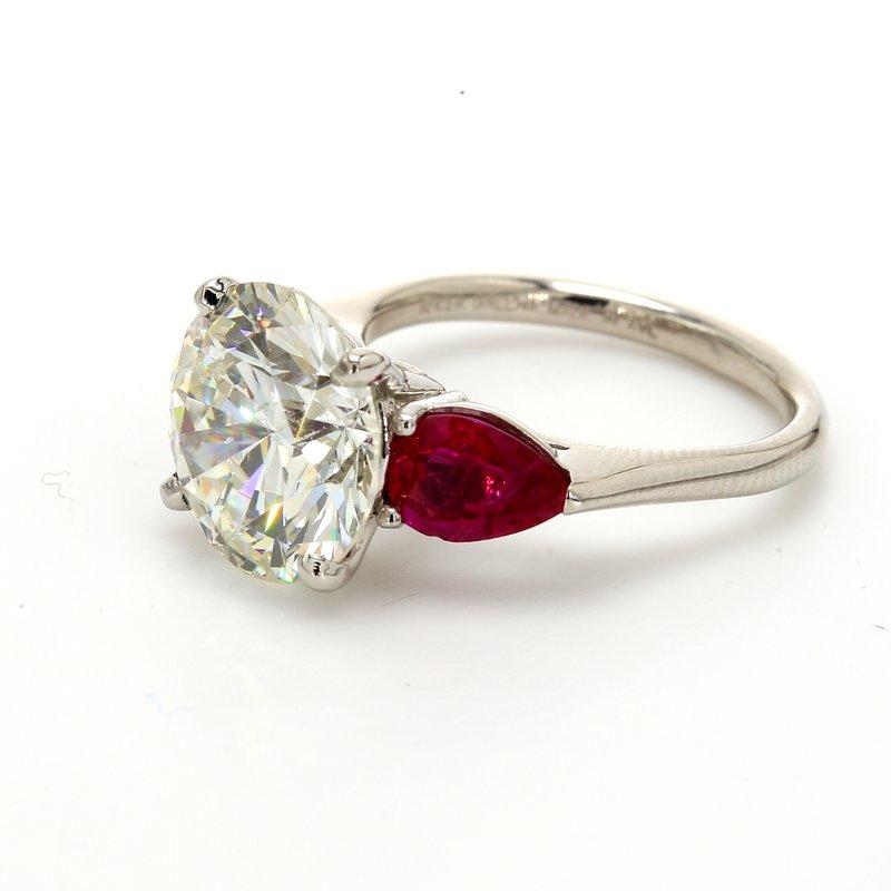 Spicer Greene 3 Stone Engagement Ring