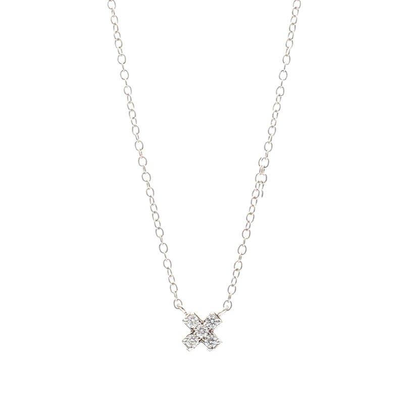 Spicer Greene Diamond X Necklace