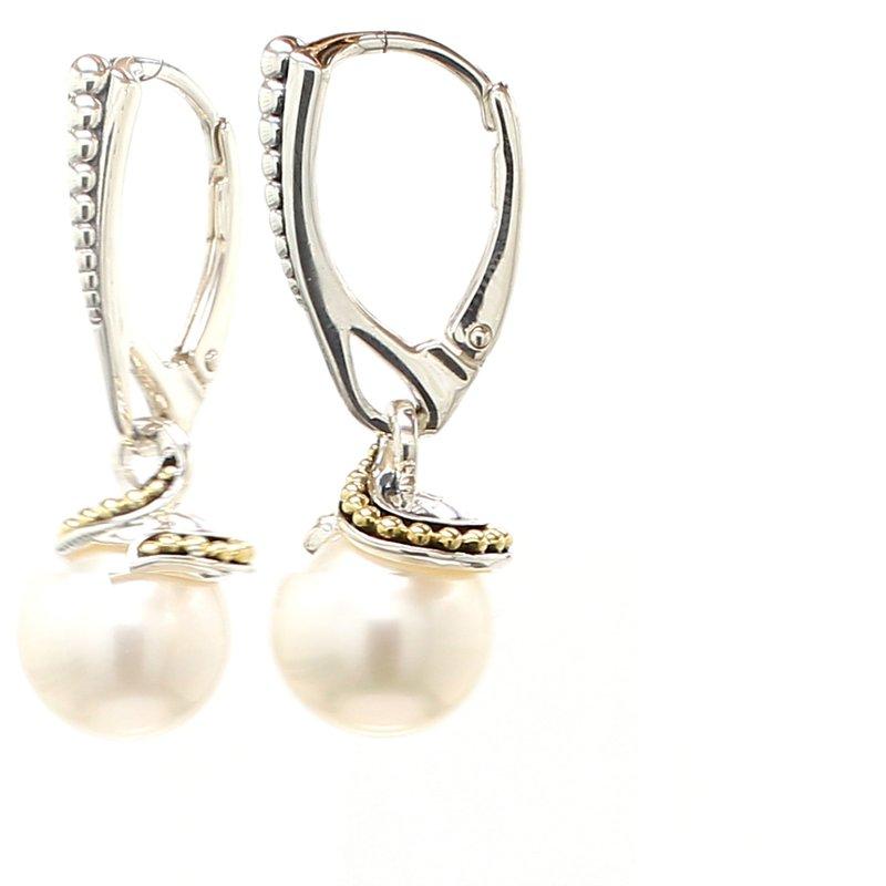 Lagos Freshwater Pearl Dangle Earrings