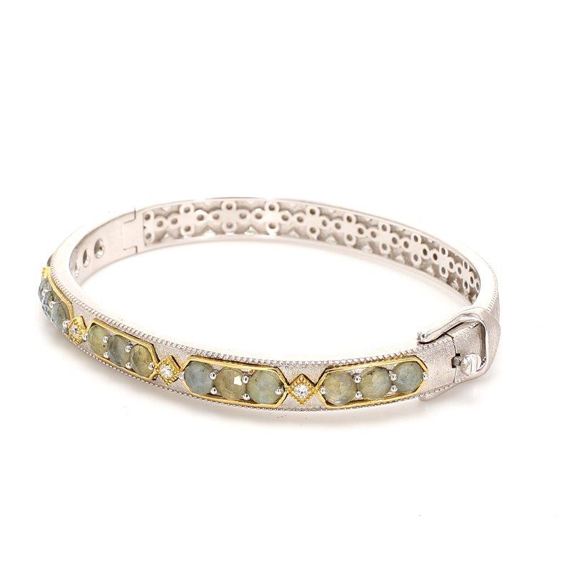 Jude Frances Labradorite Bangle Bracelet