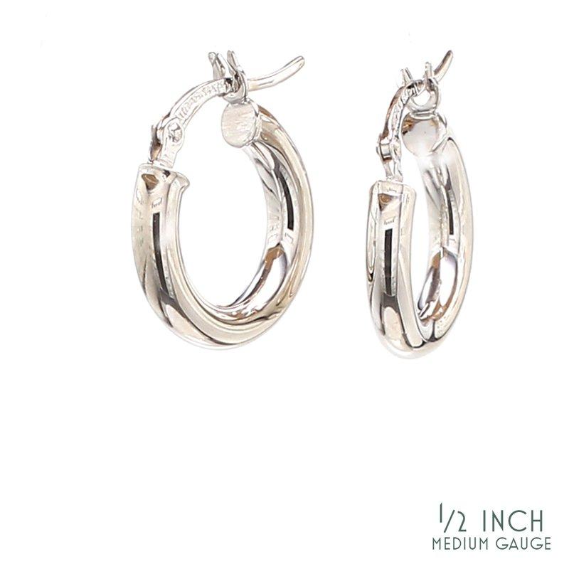Spicer Greene 1/2in Hoop Earrings