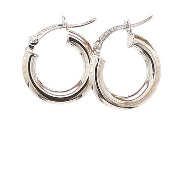 1/2in Hoop Earrings