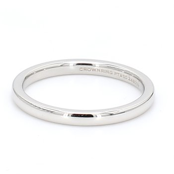 2mm Platinum Wedding Band