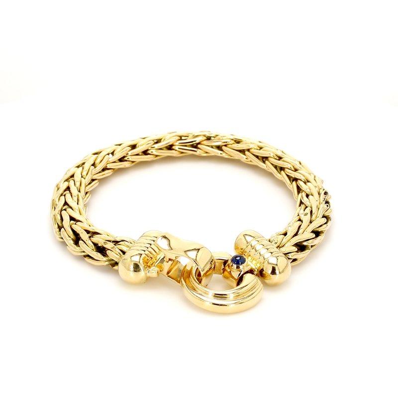 Estate Gold Byzantine Bracelet