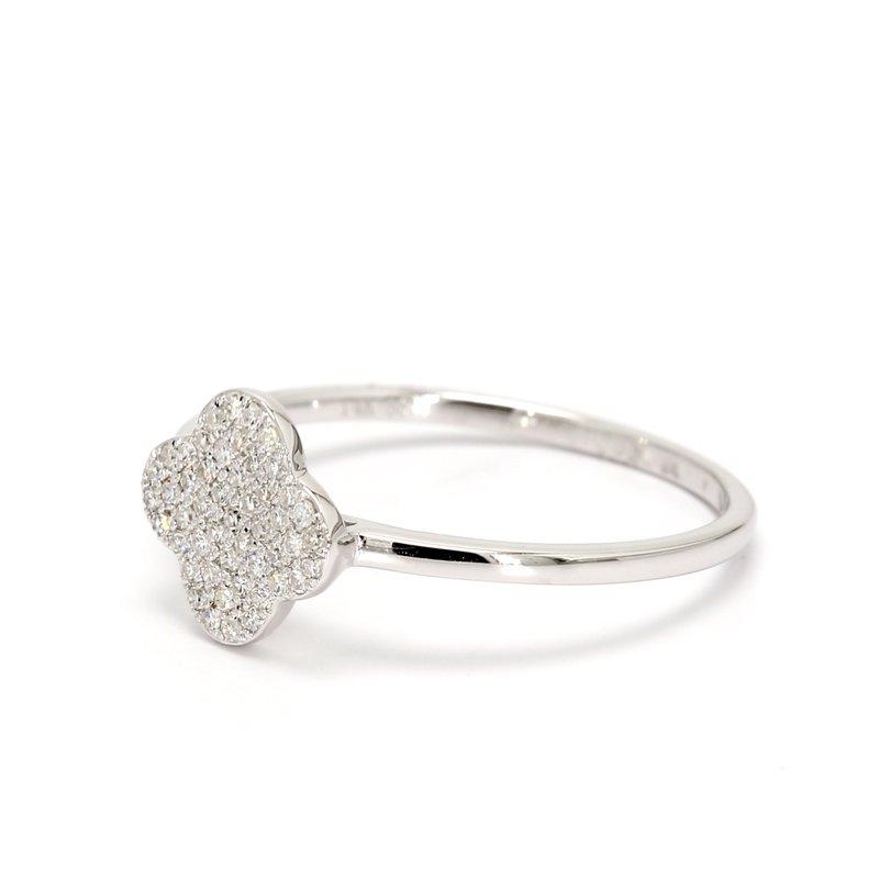 Spicer Greene Cluster Diamond Ring