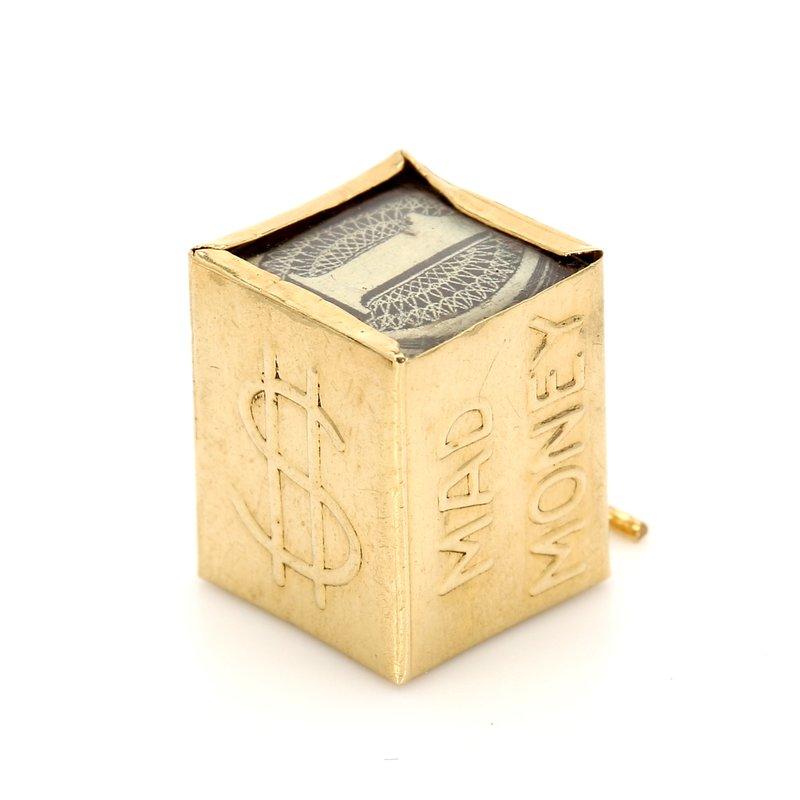 Estate Charm Gold Pendant