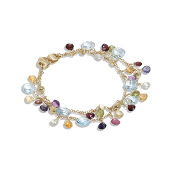 Paradise Gemstone Fringe Bracelet
