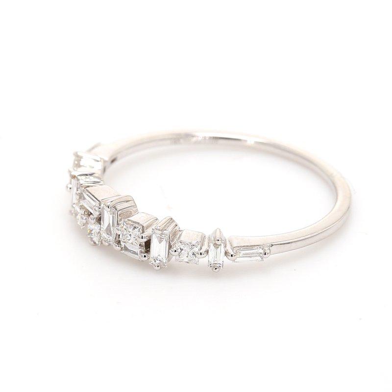 Spicer Greene Confetti Diamond Wedding Band