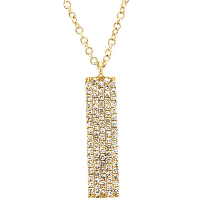 Spicer Greene Diamond Drop Pendant
