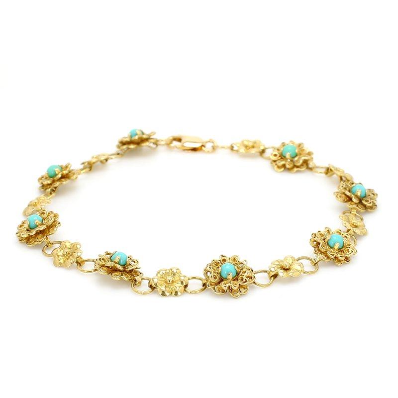 Estate Turquoise Bracelet