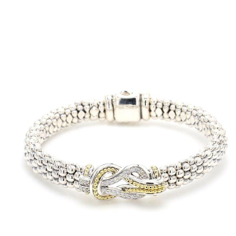 Lagos Diamond Knot Bracelet