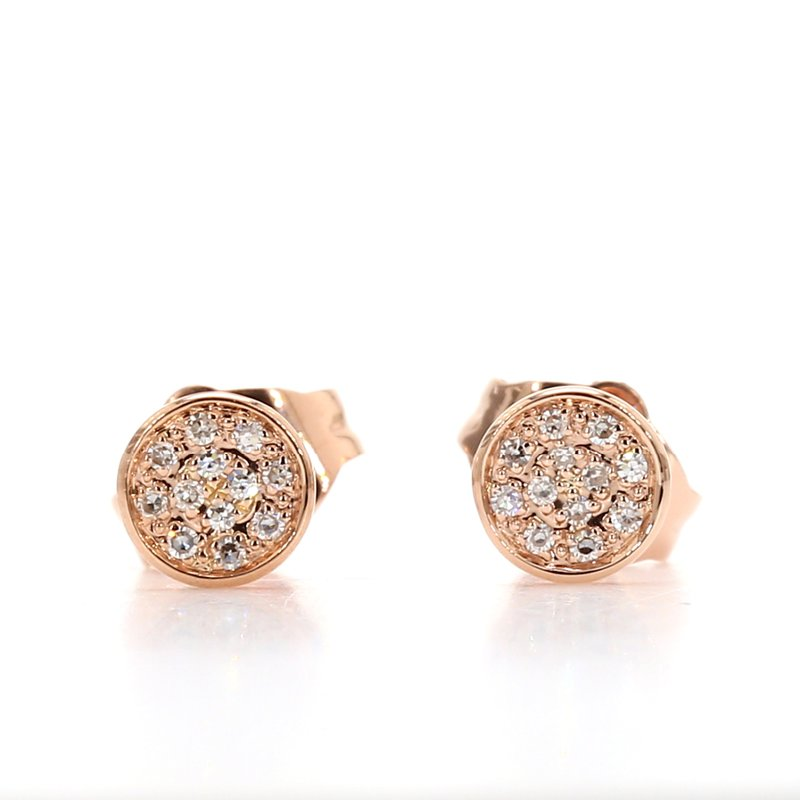 Spicer Greene Cluster Diamond Studs