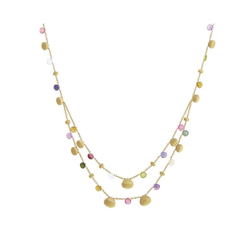 Marco Bicego Paradise Beaded Strand Necklace