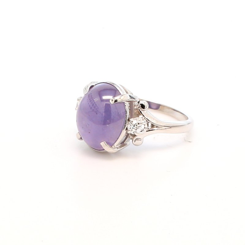 Estate Sapphire Solitaire Ring
