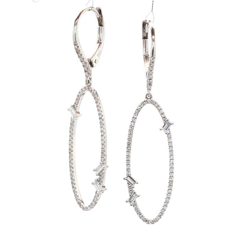 Spicer Greene Diamond Dangle Earrings